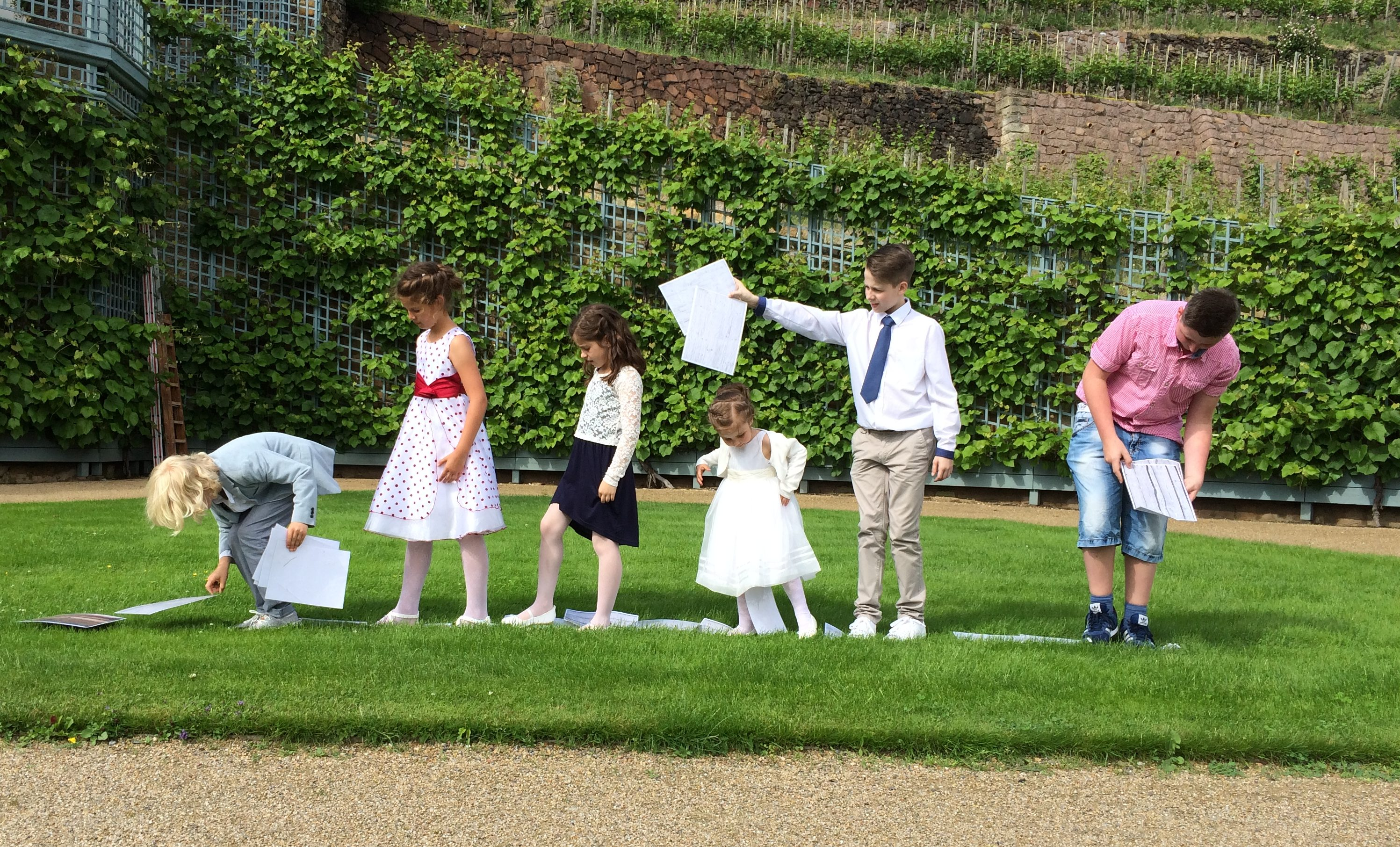 Hochzeit Schnitzeljagd